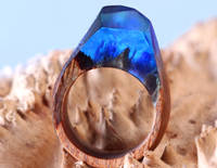 'Secret' Style Wood and Resin Jewellery Made Using GlassCast 10 Clear Epoxy Resin Thumbnail